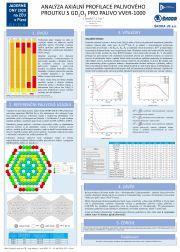 J. Závorka a další: Analýza axiální profilace palivového proutku s Gd203 pro palivo VVER 1000